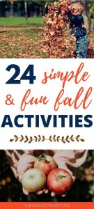 simple and frugal fall family activities