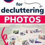 declutter the photos