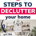 declutter your home checklist