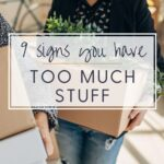 signs too much stuff