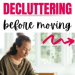 decluttering before a move