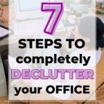 declutter home office